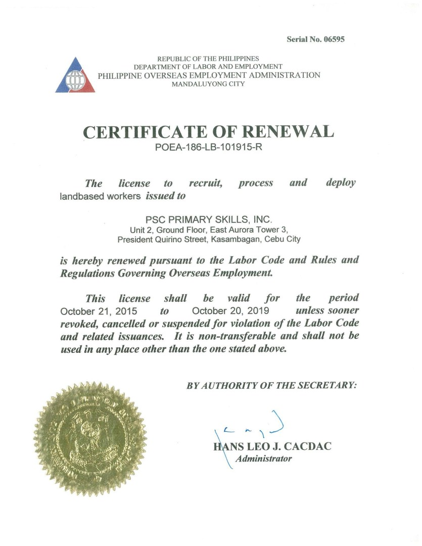 License 2015 (Large)