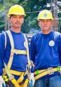 worker-blue